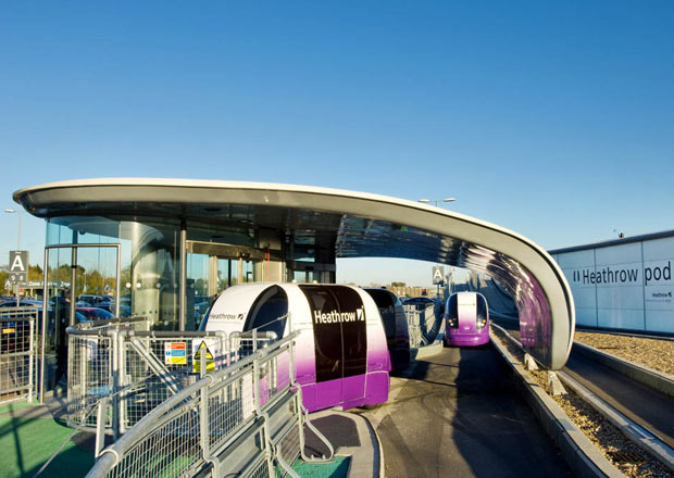 ultra Pod at Heathrow
