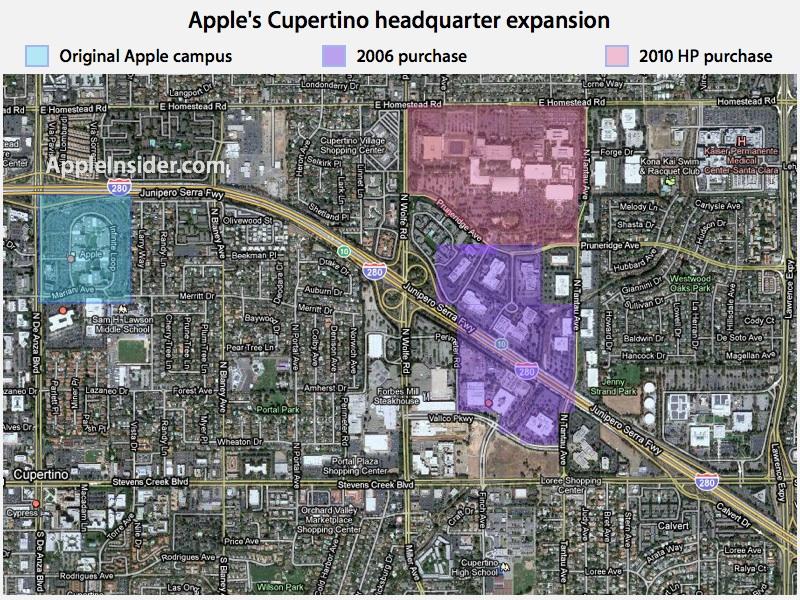 Coa Campus Map.Cupertino City Of Apple Ultra Global Prt